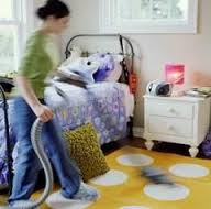 curatenie camera
